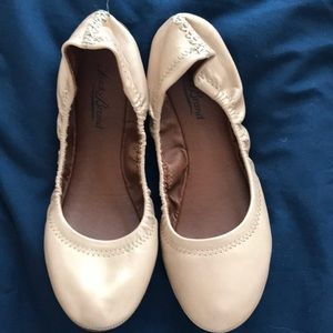 Lucky Brand Camel Colored Flats